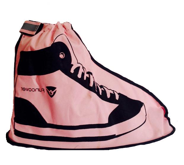 harga New funcover 2016 pink, cover shoes / jas hujan sepatu Tokopedia.com