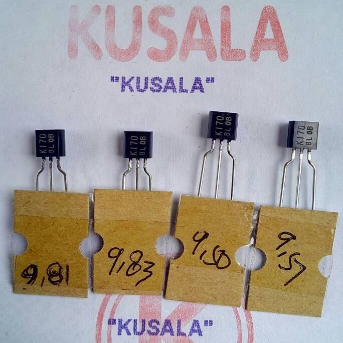 Jual Matched 2SK170 - Kab  Karangasem - Kusala Electro | Tokopedia
