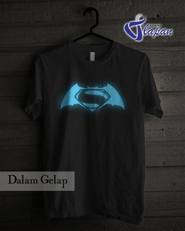harga Kaos batman v superman glow in the dark Tokopedia.com