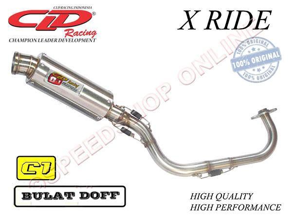 harga Knalpot cld racing x-ride type c1 silencer bulat doff Tokopedia.com
