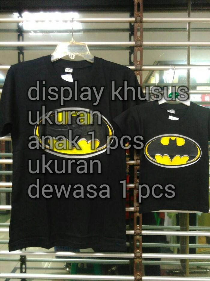 harga Baju kaos pasangan keluarga couple family anak papa batman Tokopedia.com
