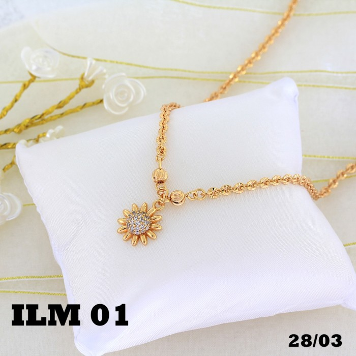 Ofashion Aksesoris Kalung XX CA 1702K033 Modern Necklace Accessories Panjang 73 Cm Emas. Source ·