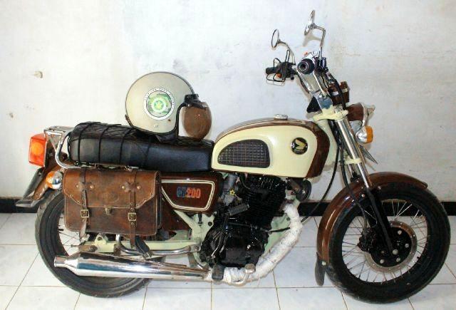 harga Aksesoris tas motor asli kulit klasik dan jadul Tokopedia.com
