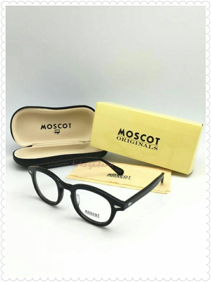 Jual Frame Kacamata Moscot Lemtosh Black Glossy  02b67fd40d