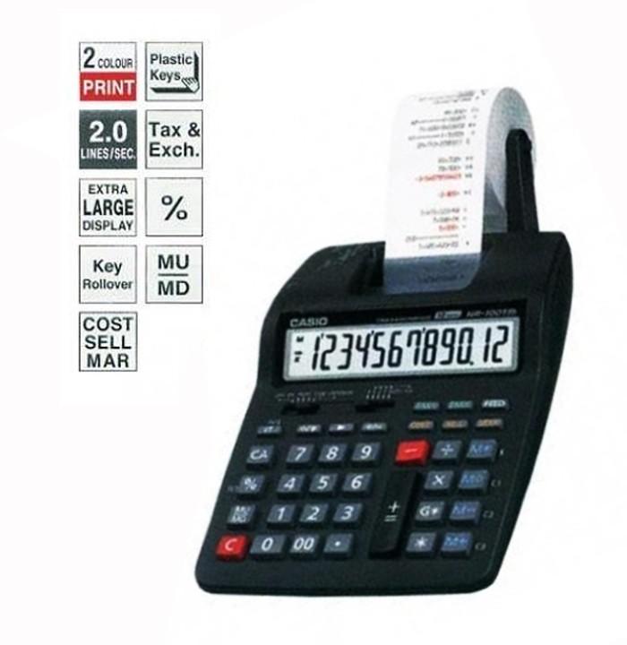 harga Kalkulator kasir portable printer casio hr-100tm Tokopedia.com