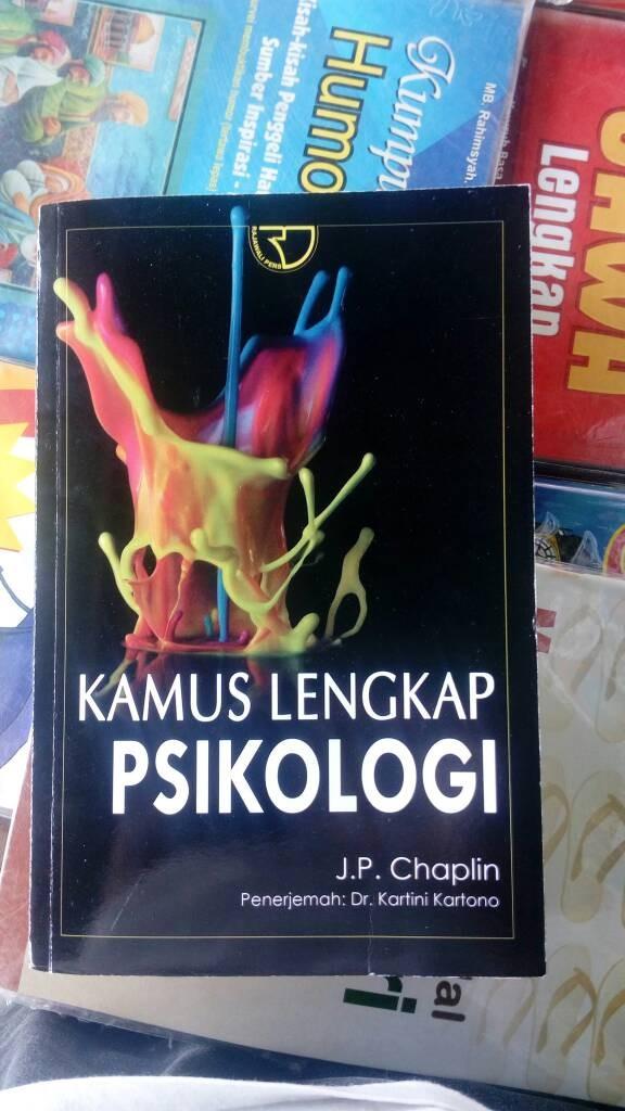 harga Kamus Lengkap Psikologi., J.p.chaplin Tokopedia.com