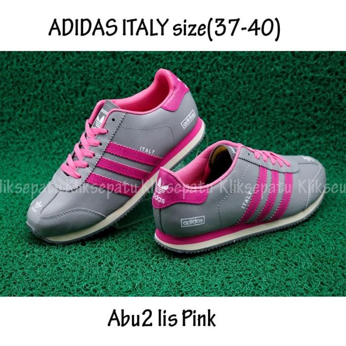 Jual Sepatu Casual   Sepatu Adidas   Sepatu Adidas Italy Abu2 Lis ... 61bf35b6c7