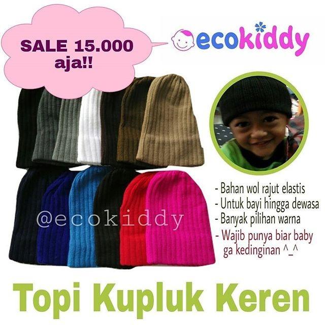 Jual Topi Kupluk Rajut Anak Bayi Polos Beanie Hat Keren Distro Murah ... 9d430e49a5