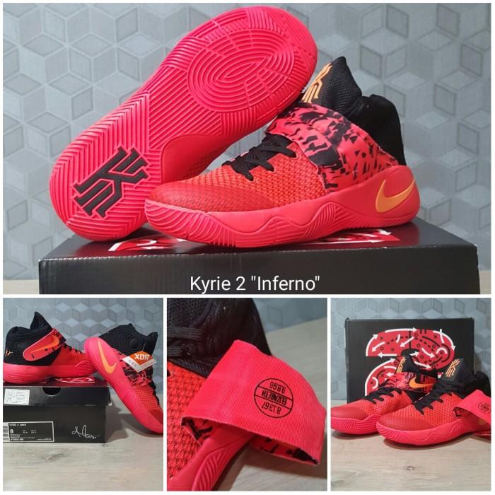 Jual Sepatu Basket Nike Kyrie 2 Inferno Red - basketballarea id ... 26f0c95357