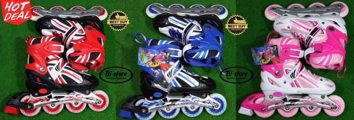 Jual sepatu roda skate zone inline skate roller blade roller skate ... 954692a5ab