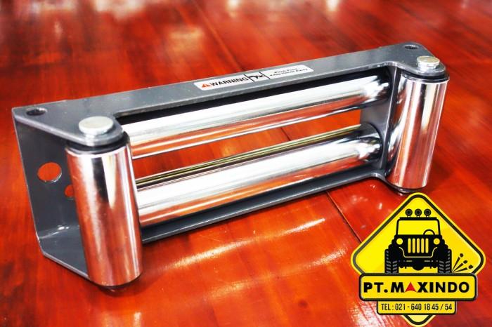 harga Runva grey roller fairlead untuk winch dengan tali sling baja Tokopedia.com