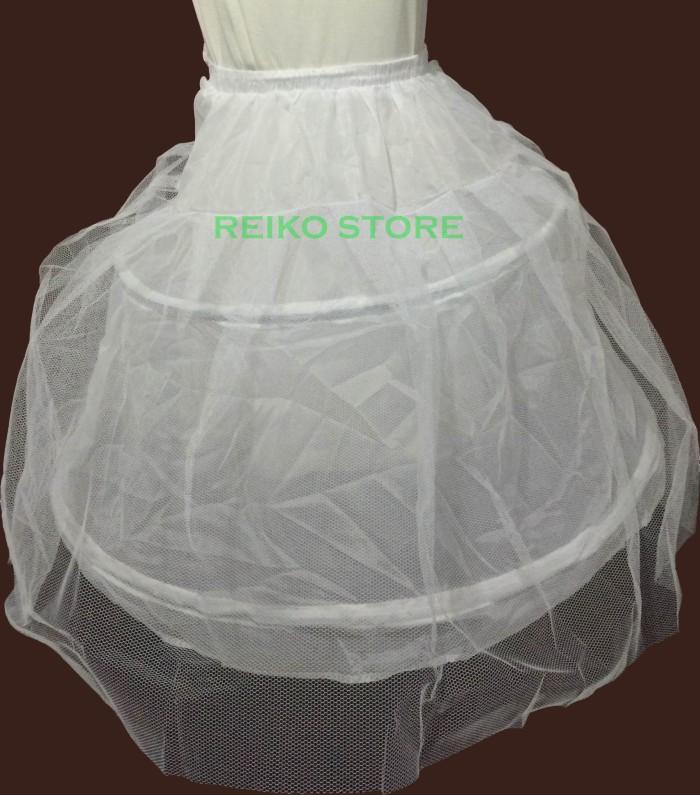 harga Petticoat/petikut/rok dalam/pengembang gaun dress kostum princess anak Tokopedia.com