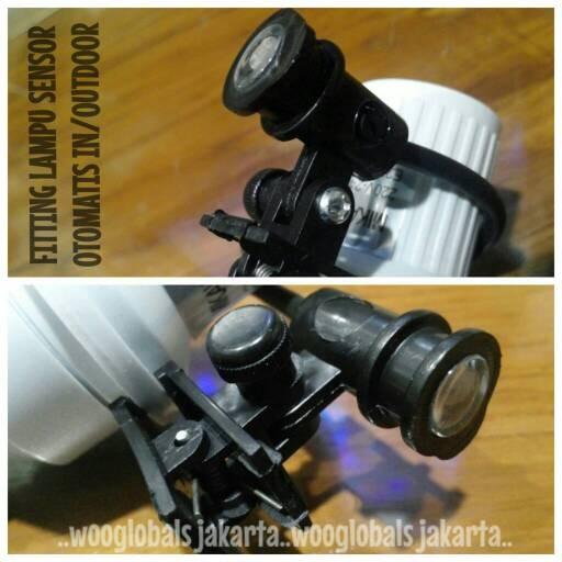 harga Fitting lampu sensor otomatis mikawa photosensor e27 in/outdoor Tokopedia.com