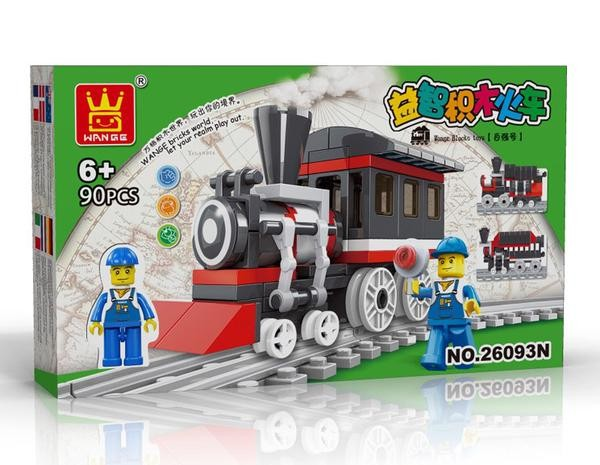 harga Lego wange - train series 26093n Tokopedia.com