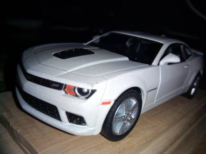 Jual Die Cast Metal Mobil 2014 Chevrolet Camaro Putih Dull Loose