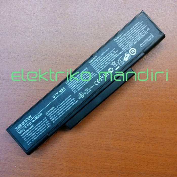 harga Original baterai axioo mnc m740 bty-m66/ 957-14xxxp-103 bty-m67 Tokopedia.com