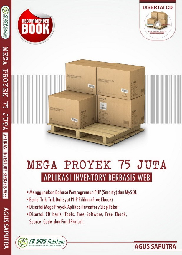 harga Mega proyek 75 juta aplikasi inventory berbasis web Tokopedia.com