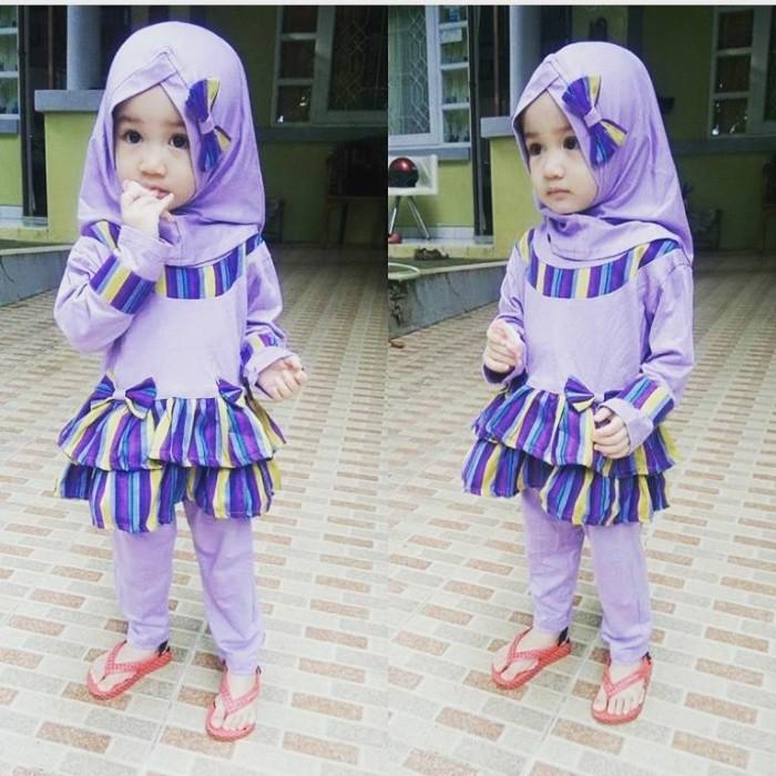 harga Baju setelan muslim anak i baju setelan bayi i baju pesta anak Tokopedia.com