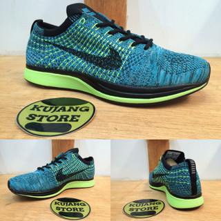 8b700fce7106 ... reduced sepatu nike flyknit racer blue lagoon original premium quality  6be3a c72fb