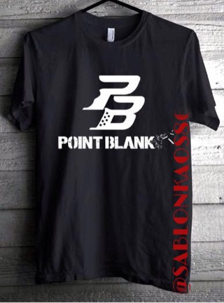 harga Kaos Distro/kaos Custom/custom Kaos/point Blank Tokopedia.com