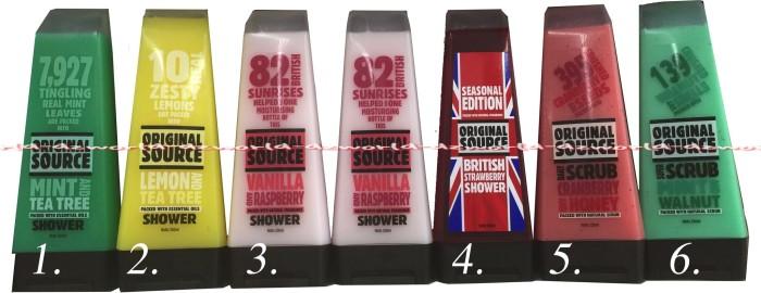 Foto Produk Sabun cair original Source Shower 6Pilihan Varian Wangi dari DZ-world