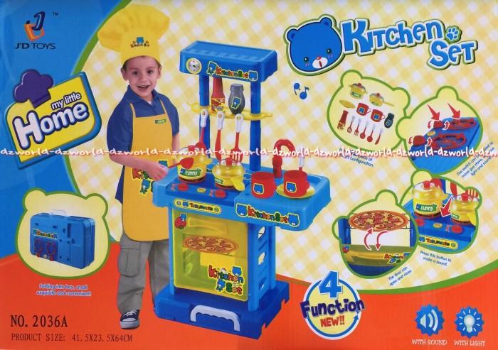 Jual Kitchen Set Anak Anak Bisa Dilipat Menjadi Tas Tenteng Dapur