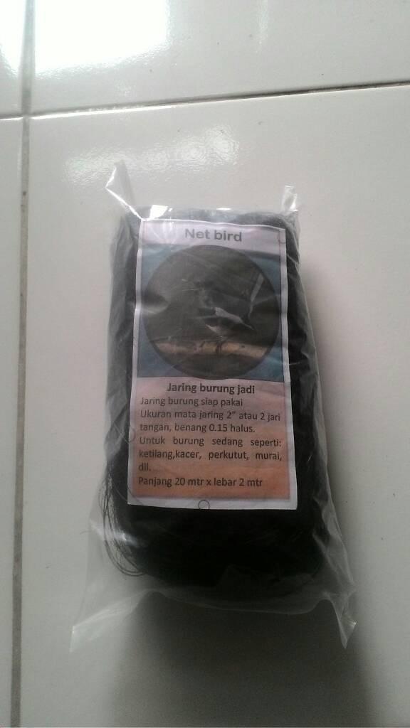 harga Jaring burung jadi ukuran 2  (p 20m x l 2 m) Tokopedia.com