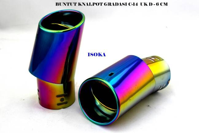 harga Moffer/knalpot honda mobilio c-14 ukd-6cm Tokopedia.com