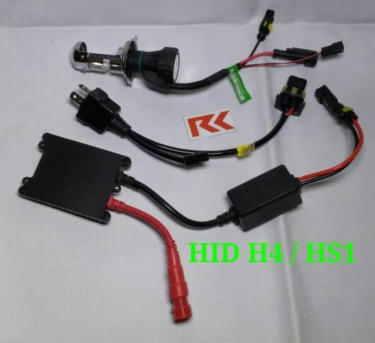 harga Lampu hid h4 / hs1 untuk motor   35 watt   garansi Tokopedia.com