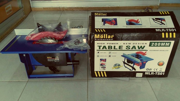 harga Mesin table saw / gergaji meja 7  mollar Tokopedia.com