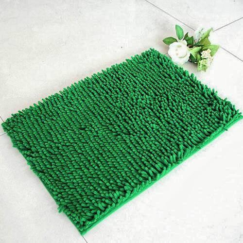 ... harga Keset cendol dof hijau 40 x 60 cm karpet bulu / doormat chenille green Tokopedia