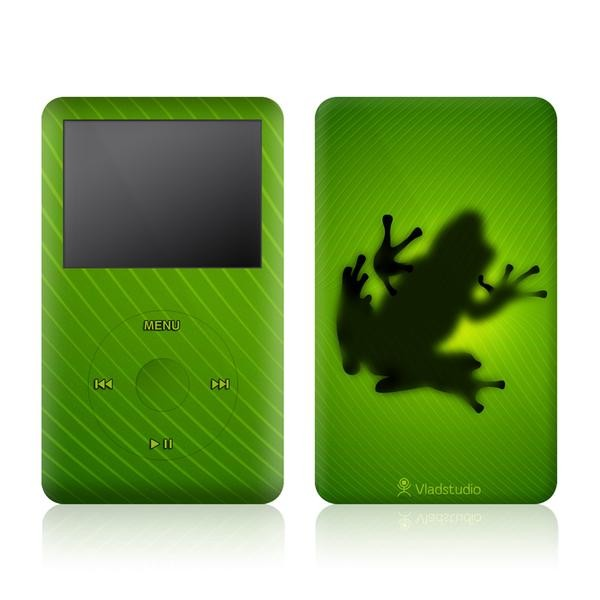 harga Garskin apple ipod classic motif green frog full body bisa custom Tokopedia.com