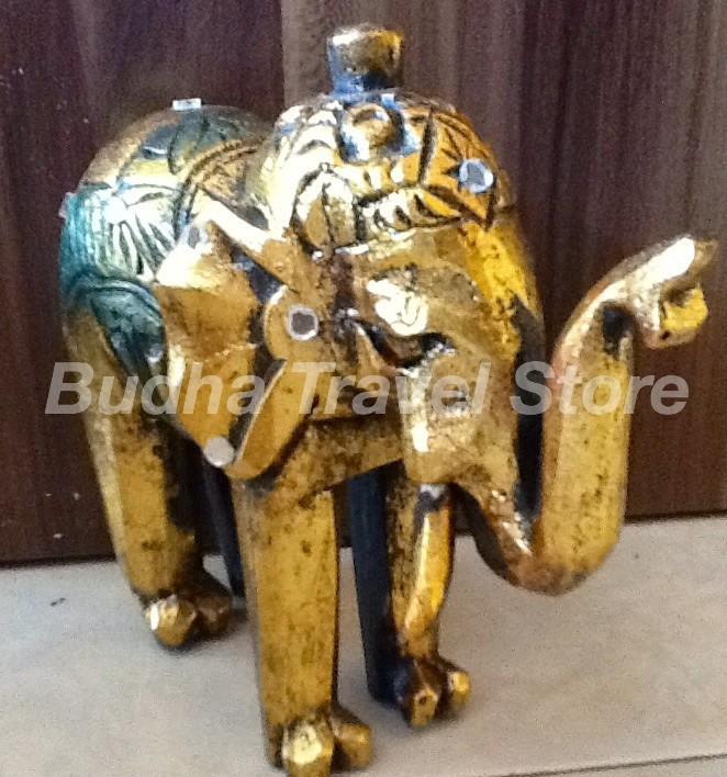 harga Patung Gajah Kayu Putih Kuning (elephant Statue) Tokopedia.com