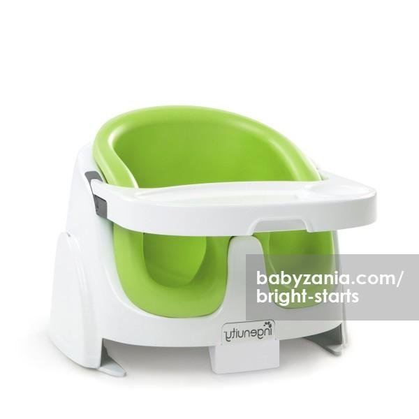 Bright starts ingenuity baby base 2 in 1 - hijau