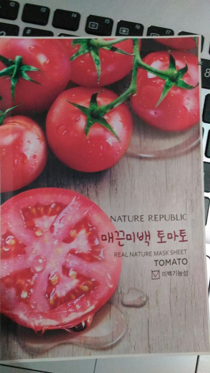 Jual Nature Republic Real Mask Sheet Tomato Chryshelles Masker