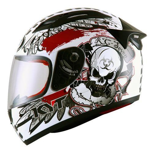 harga Helm kyt rc seven rc7 7 full face motif fullface skull rc 7 Tokopedia.com