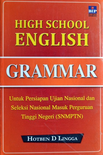 harga Buku pelajaran bahasa inggris : high school english grammar Tokopedia.com