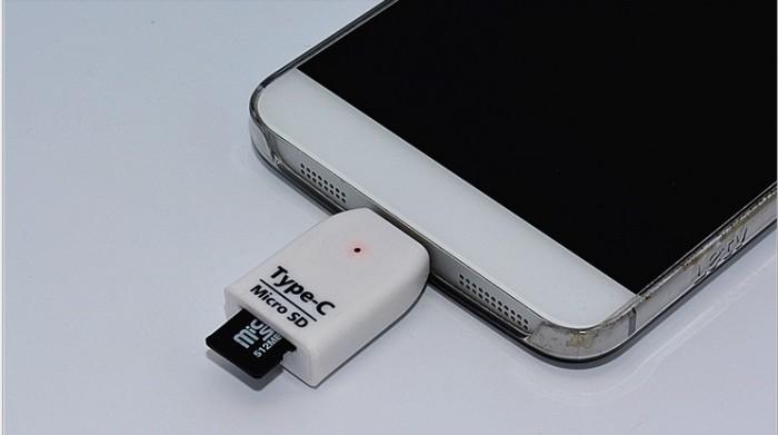 harga [mg]otg Usb 3.1 Type C To Micro Sd Card Reader Slot Tokopedia.com