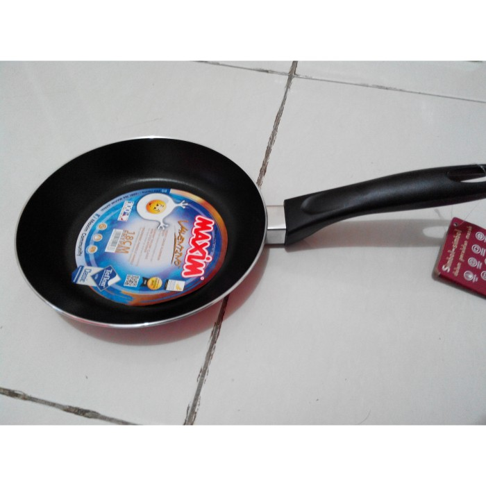 Teflon Penggorengan Maxim Valentino 18cm Frying Pan Wajan