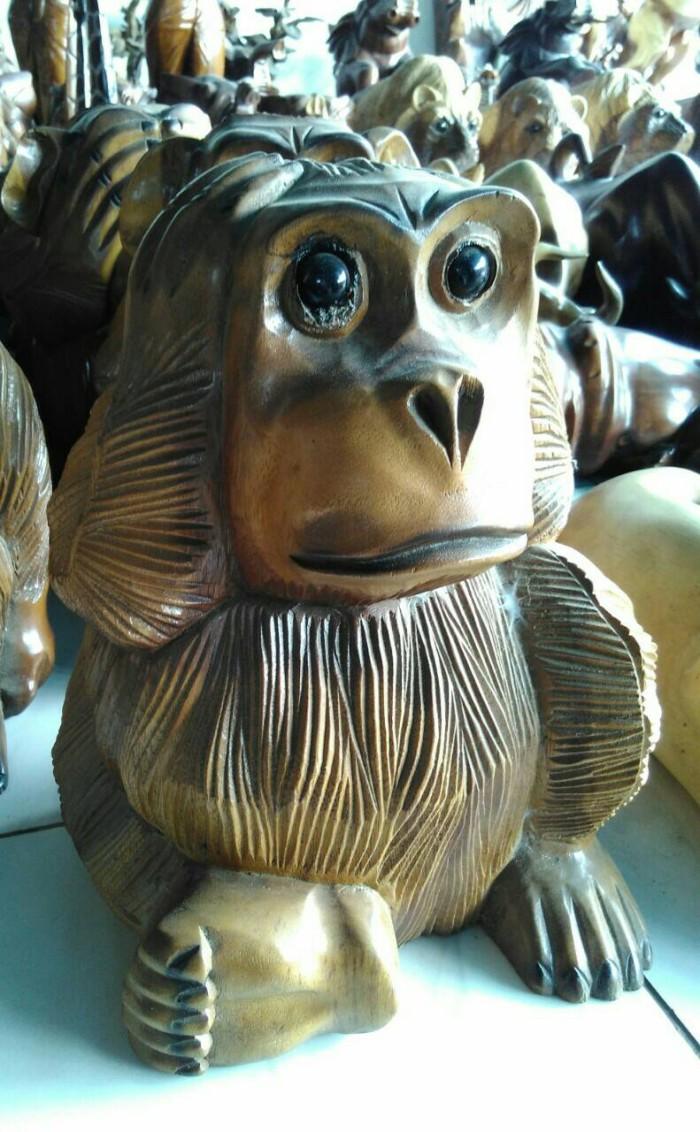 Jual Hiasan Ruang Patung Orangutan Kab Jepara Setigi Craft
