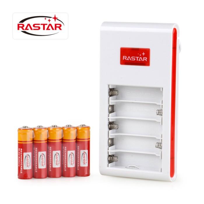 harga Rastar charger + 5pcs aa battery rechargable baterai rc isi ulang Tokopedia.com