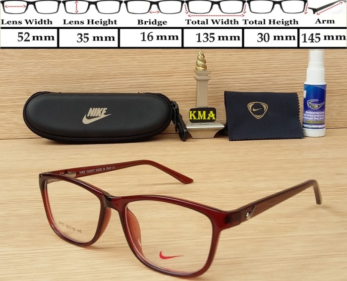 ... harga Frame kacamata cowok   frame nike   frame keren   frame kacamata  minus Tokopedia. 2e6f089526