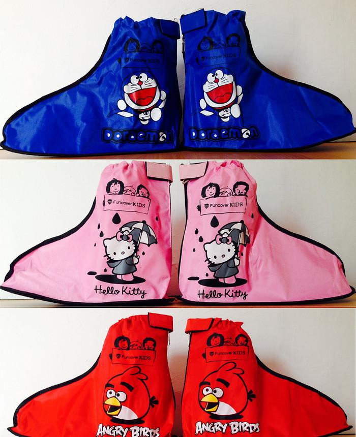 harga Jas sepatu funcover kids cover shoes kids anak junior - angrybird xs Tokopedia.com