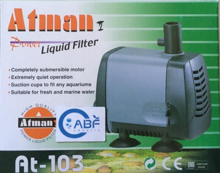 harga Pompa air atman at-103 untuk akuarium dan kolam ikan Tokopedia.com