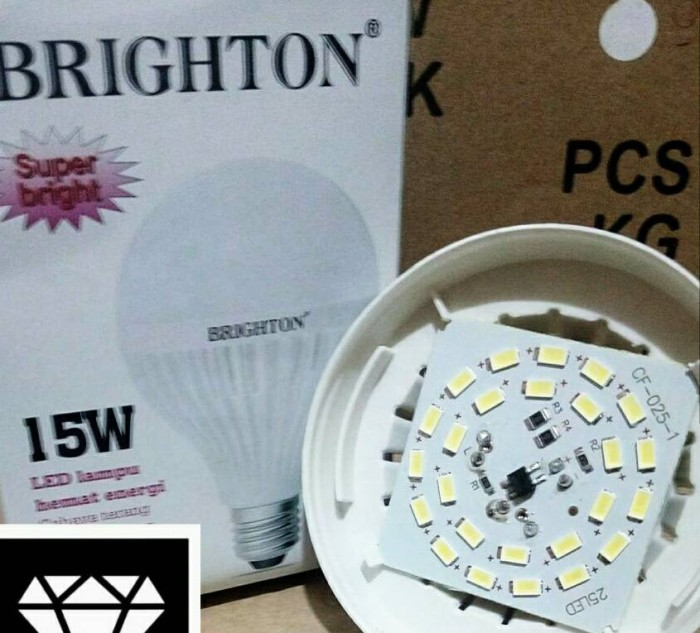 lampu led 15 watt brighton