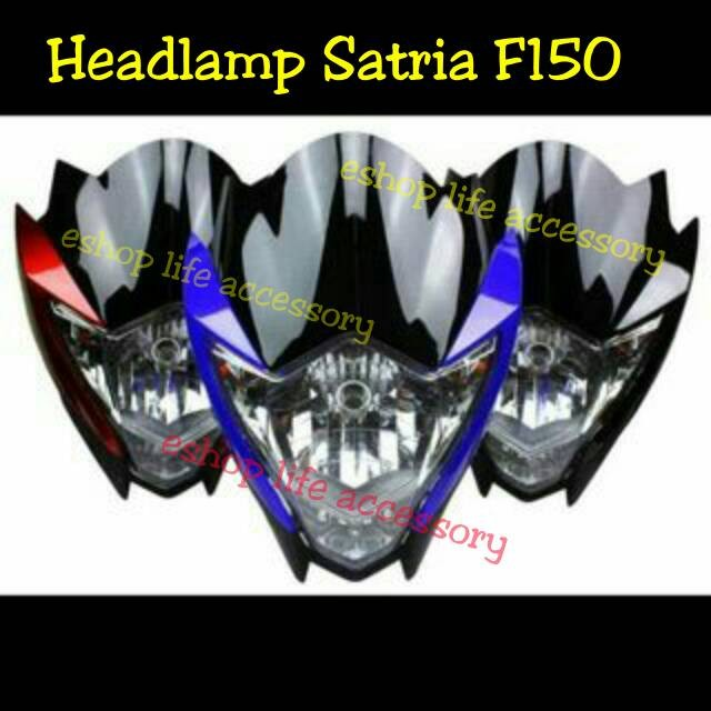 harga Headlamp batok depan lampu utama model suzuki satria fu f 150 Tokopedia.com