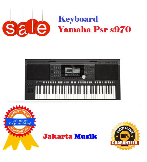 Keyboard Yamaha psr s970 baru garansi Resmi 1 Tahun