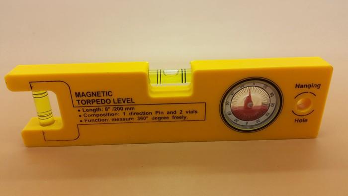 harga Waterpass / magnetic torpedo level with magnet + busur derajat Tokopedia.com