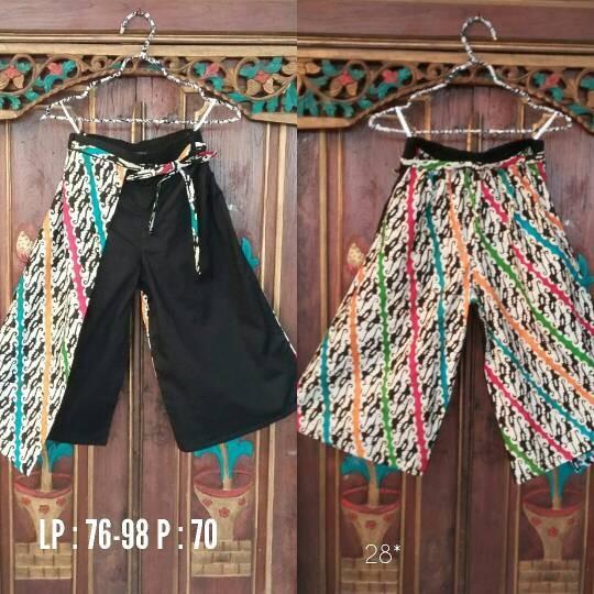 Jual Batik Celana Kulot Ethnic - Batik Nana Ethnic  90439c3e68