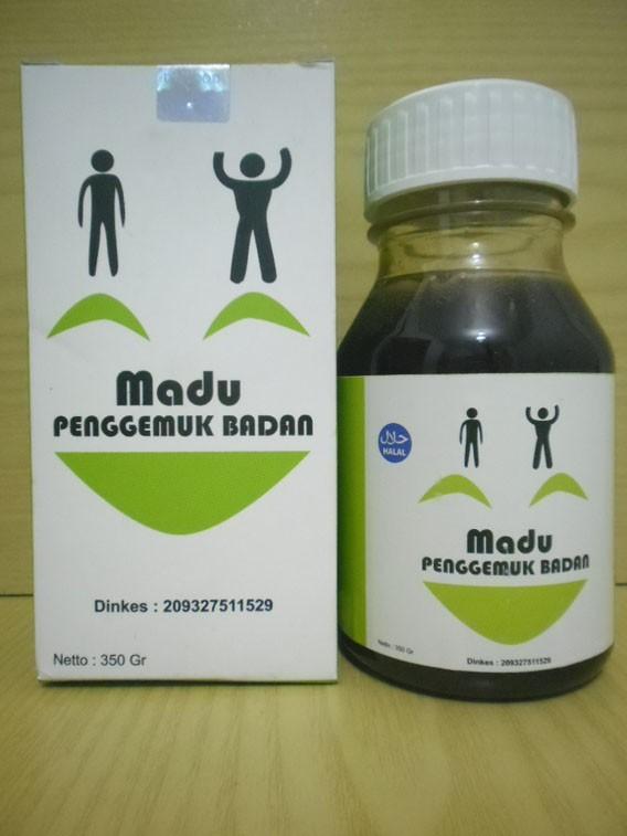Jual Herbal Obat Penambah Berat Badan Madu Penggemuk Badan Al